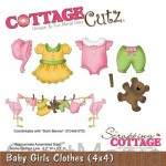 wykrojnik baby girls clothes- cc4x4-496 Cottagecutz