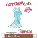 wykrojnik bride & groom cce-128 Cottagecutz