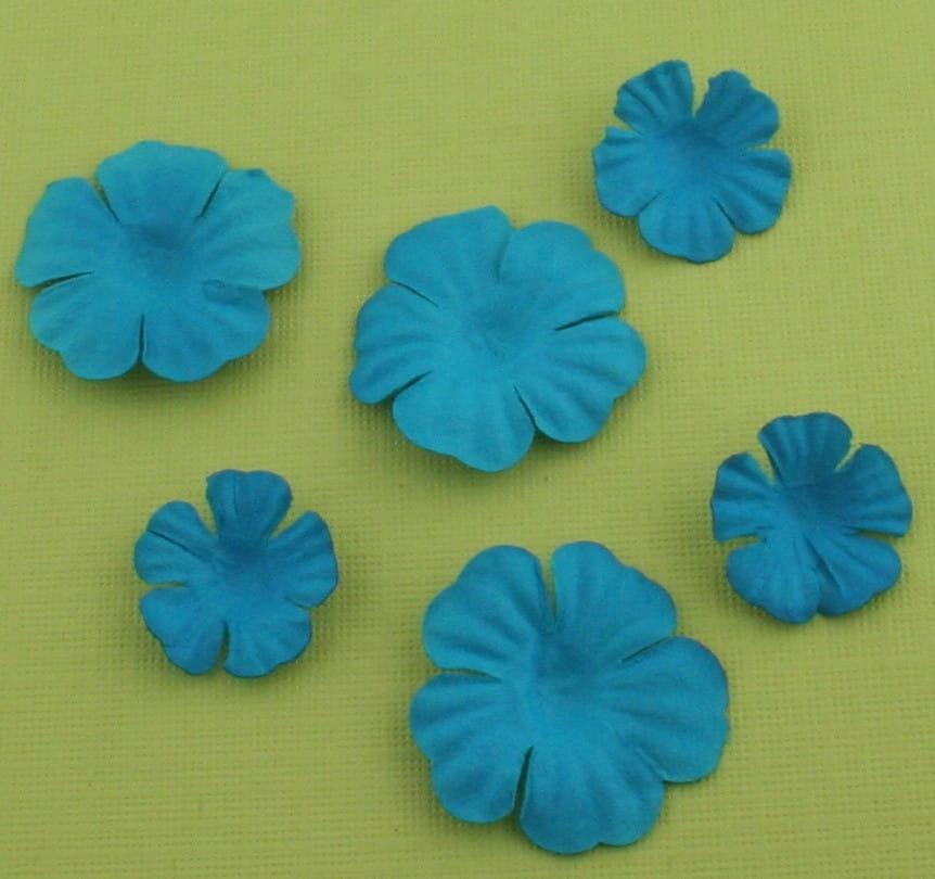 http://craftmania.pl/pl/p/papierowe-kwiatki-turkusowe/217