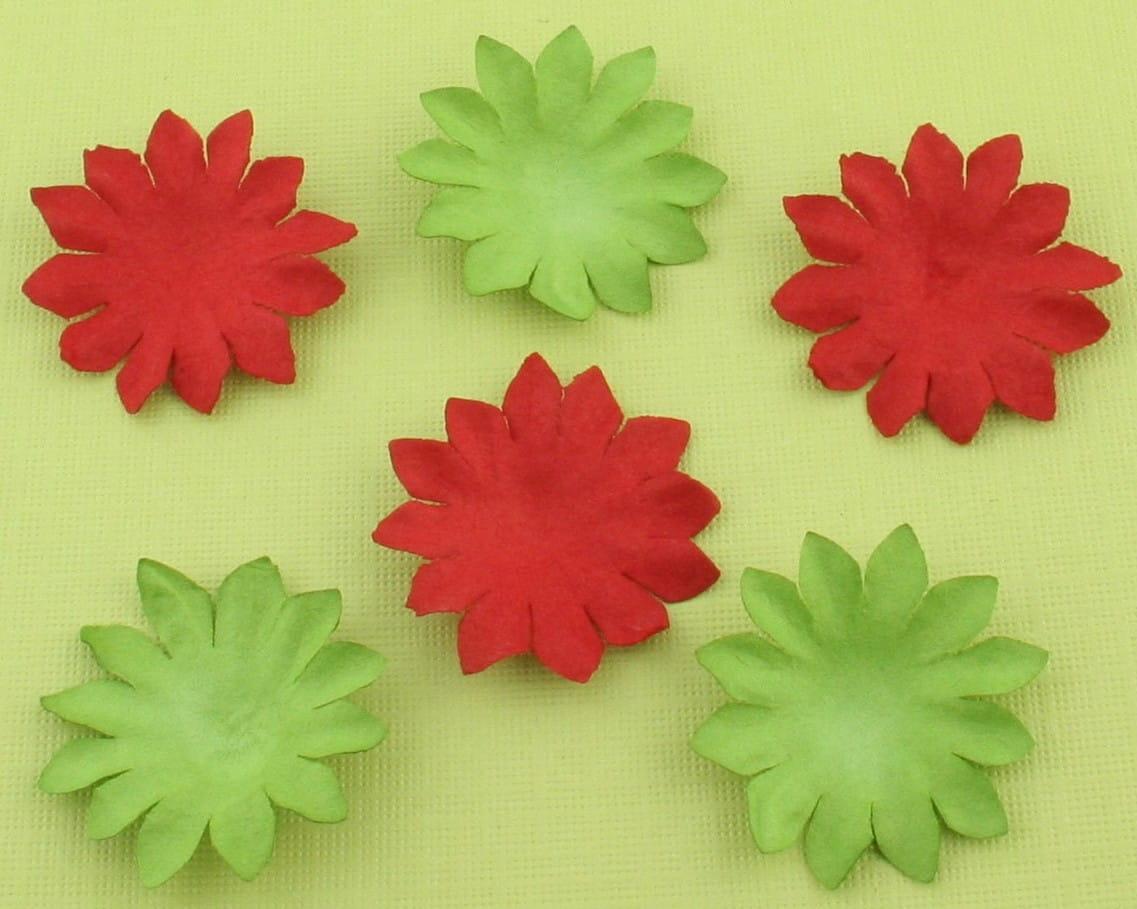http://craftmania.pl/pl/p/papierowe-kwiatki-czerwono-zielone/213