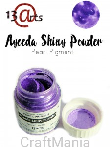 Shiny powder Violet