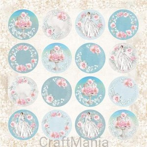 papier do scrapbookingu Pastel Wedding 07