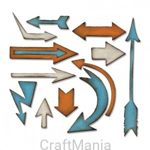 Wykrojnik Artful Arrows by Tim Holtz Sizzix