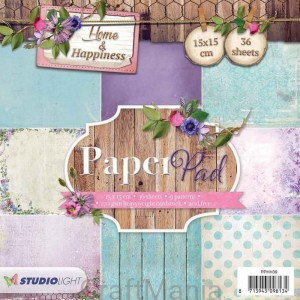 Home & Happiness PPHH39 - paper pad