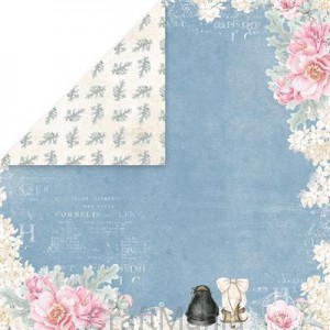 papier do scrapbookingu Pastel Wedding 05