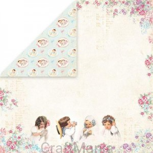 papier do scrapbookingu Shabby Baby 06