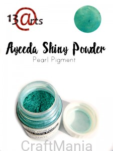 Shiny powder Green blue