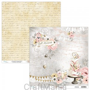 papier do scrapbookingu Marry Me 02