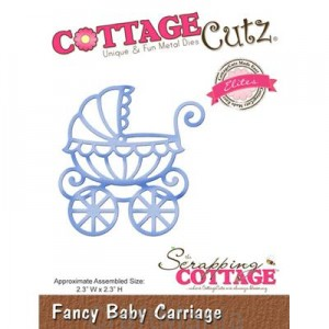wykrojnik fancy baby carriage - cce-143 Cottagecutz