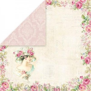 papier do scrapbookingu Bellisima Rosa 01