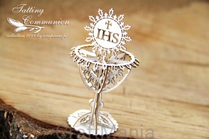 Tatting Communion - kielich 3d