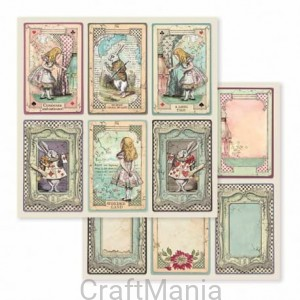 papier do scrapbookingu stamperia  Alice -  sbb584