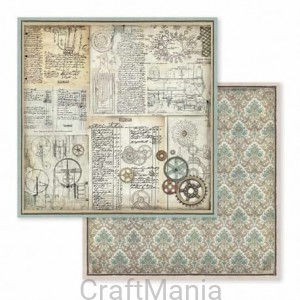 papier do scrapbookingu  stamperia -  sbb598