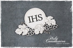 Holy Communion - hostia z winogronami