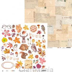papier do scrapbookingu Four Seasons - Autumn 07