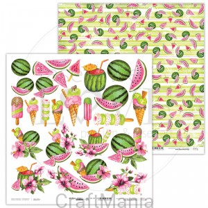 papier do scrapbookingu Watermelon Summer 03