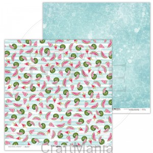 papier do scrapbookingu Watermelon Friends 03