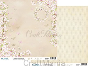 papier do scrapbookingu Romantic day 01