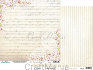 papier do scrapbookingu Romantic day 02