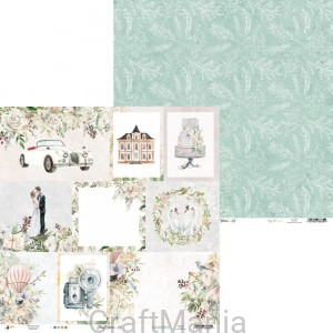 papier do scrapbookingu Truly Yours 05