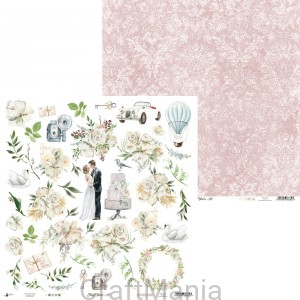 papier do scrapbookingu Truly Yours 07