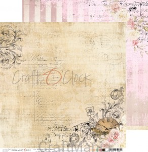 papier do scrapbookingu Vintage Bisou 06