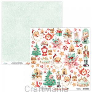 papier do scrapbookingu The Sweetest Christmas 09