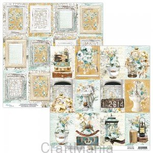 papier do scrapbookingu Old Manor 06