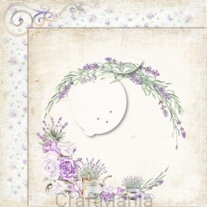 papier do scrapbookingu My sweet Provence 01