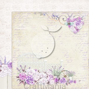 papier do scrapbookingu My sweet Provence 02