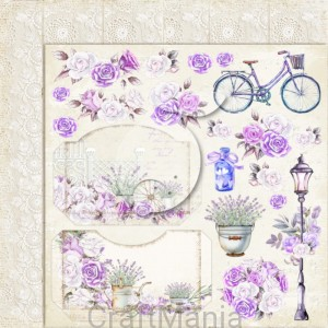papier do scrapbookingu My sweet Provence 03