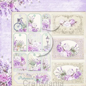 papier do scrapbookingu My sweet Provence 05