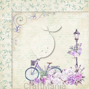 papier do scrapbookingu My sweet Provence 06
