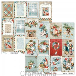 papier do scrapbookingu Home for Christmas 06