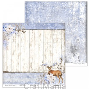 papier do scrapbookingu Winter Tales 04
