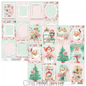 papier do scrapbookingu The Sweetest Christmas 06
