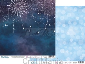 papier do scrapbookingu Glamour Dreams 01