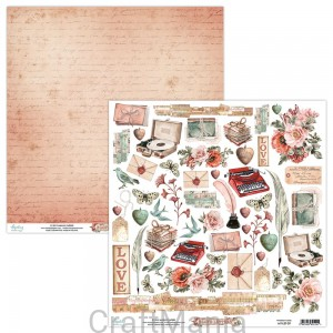 papier do scrapbookingu Love Letters 09