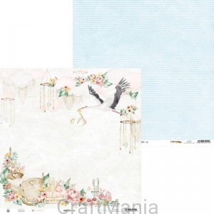 papier do scrapbookingu Baby Joy 02