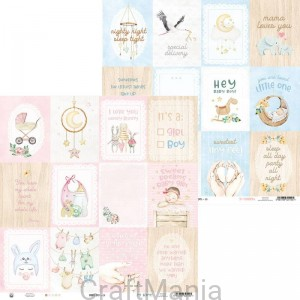 papier do scrapbookingu Baby Joy 05