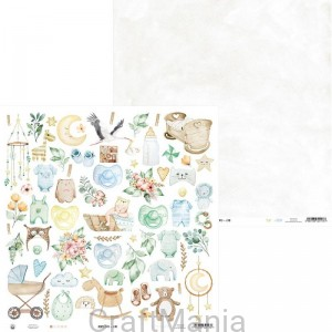 papier do scrapbookingu Baby Joy 07b