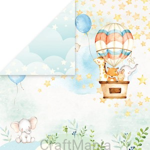 papier do scrapbookingu  Baby Adventure 01