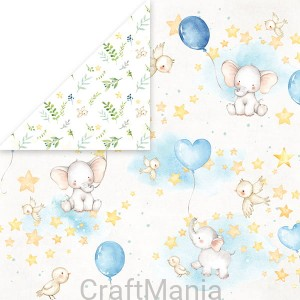 papier do scrapbookingu  Baby Adventure 02
