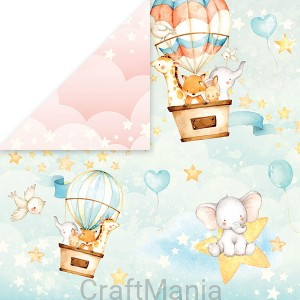 papier do scrapbookingu  Baby Adventure 03