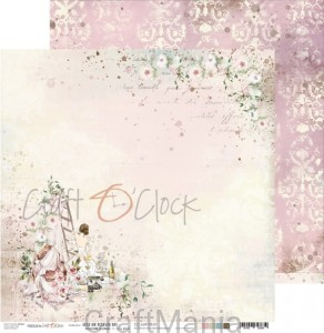 papier do scrapbookingu Love Me Forever 01