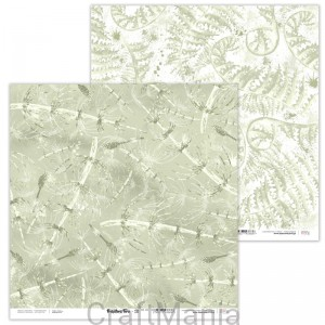 papier do scrapbookingu Prehistoric Fern 10