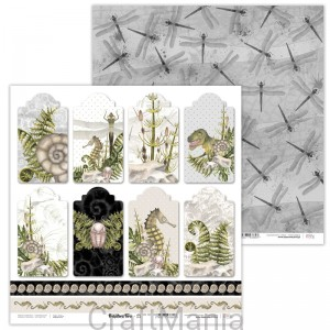 papier do scrapbookingu Prehistoric Fern 11