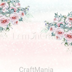 papier do scrapbookingu Blush 02