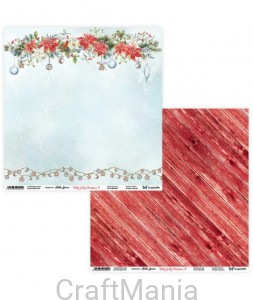 papier do scrapbookingu Holly Jolly Christmas 11/12