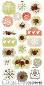 My christmas wish - arkusz die cuts